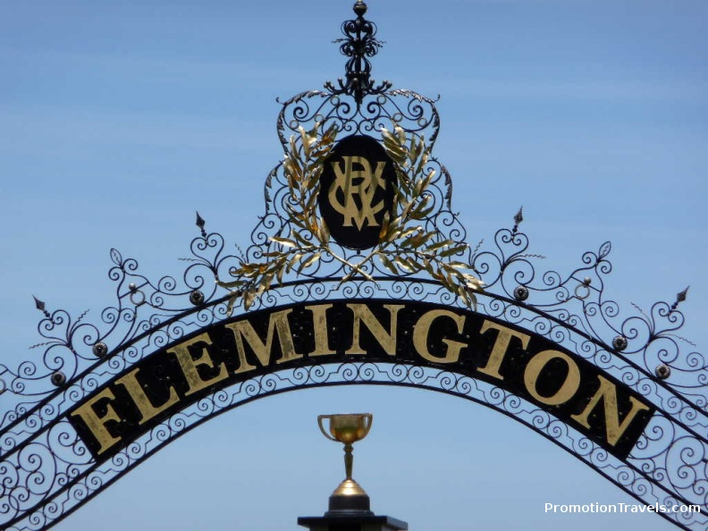 The Flemington finish line.JPG