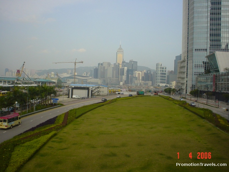 Along the IFC walkway.JPG